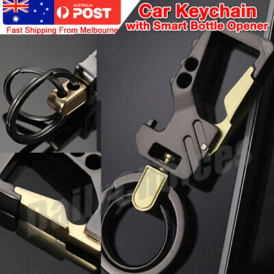 Stylish Metal Car Key Rings Alloy Chain Heavy Duty Gift Keyring Keychain Holder