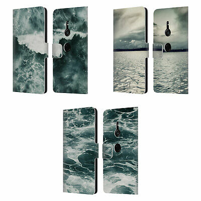 Official Dorit Fuhg Waves Leather Book Wallet Case Cover For Sony Phones 1