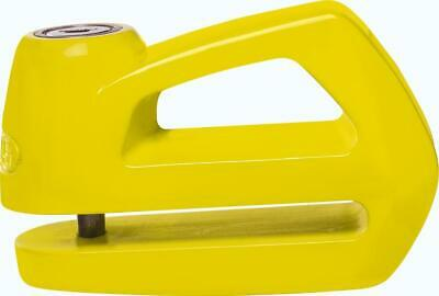 Abus Element 285 Yellow Security Disc Lock For Motorcycle Motorbike - 5mm