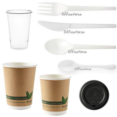 Environmentally Friendly Cutlery/Disposable Cup Zero Plastic Waste Biodegradable