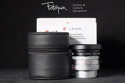 New Leica Summicron 35mm F2 ASPH LTM - Silver /Japan Limited with LTM-M adapter
