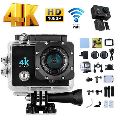 Pro Cam 4K Wifi Ultra Hd 16Mp Sport Action Videocamera Subacquea Telecomando It