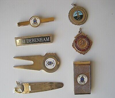 Job Lot Of Vintage Medals And Pins Collectibles