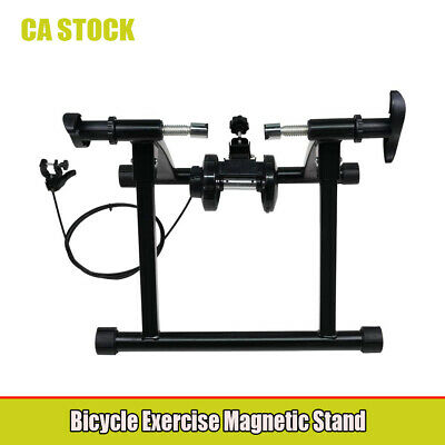 Exercise Bike Stand Indoor Bicycle Cycling Trainer Steel Magnetic Stationary
