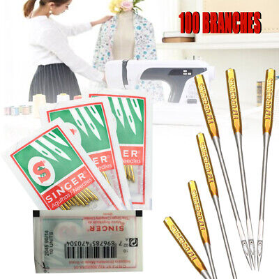 100Pcs 9 11 14 16 18 Domestic Machine Needles 2020 HAX1 705H Singer Pack