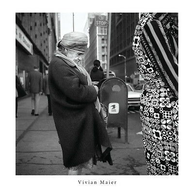Vivian Maier Old Lady on the Street 30x30cm Print