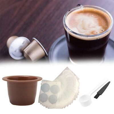 Reusable Coffee Capsule Refillable DIY Disposable Pods For Nespresso Machines