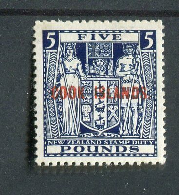 Cook Islands KGVI 1943-54 £5 indigo-blue SG136 MLH