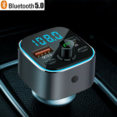 KFZ Bluetooth FM Transmitter Car MP3 Player Auto USB Charger Freisprechanlage DE