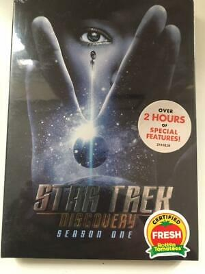 Star Trek Discovery Season 1 (DVD) New/Sealed UK Express Delivery