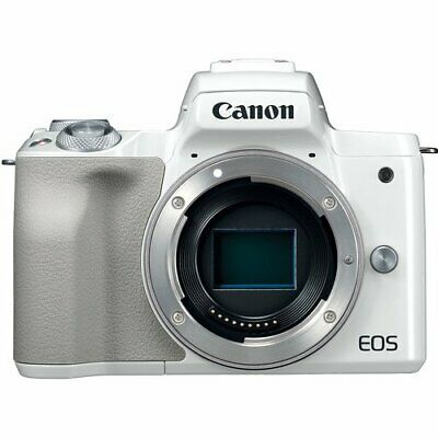 Canon EOS M50 Mirrorless Digital Camera - White