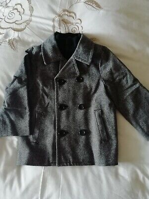 Double Breasted Boys Coat - 3years