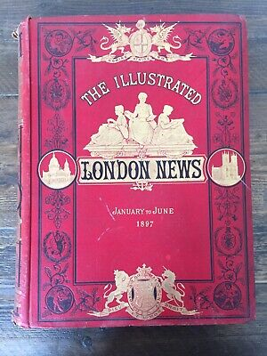 THE Illustrated London News Coronation Jan-June 1897 Collectible