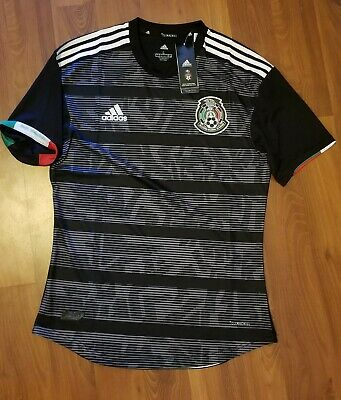 dd7f0897da93 ADIDAS MEXICO AUTHENTIC 2019 Gold Cup Soccer Football Jersey ...