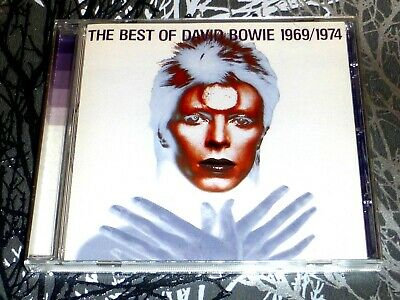 David Bowie * The Best Of David Bowie 1969/1974 { Cd Album } 1997 Very Good