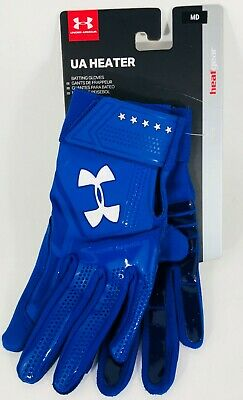 """New"" Ua Under Armour Heater Adult Baseball Batting Gloves 1299540"