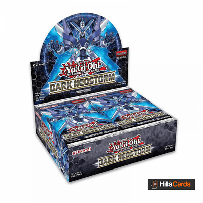 YuGiOh Dark Neostorm Sealed Booster Box of 24 Packs - 1st Edition TCG Cards