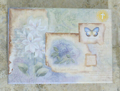 NEW Style & Paper Stationary Box Gift Set Inspirational verse note cards floral