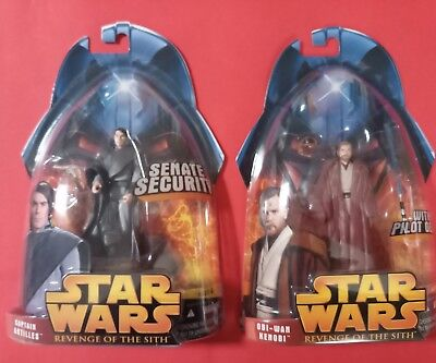 2 Figurines Star Wars - Revenge Of The Siths (ROTS) -  Neuf /Lot 2*