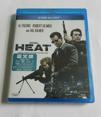 HEAT Director's Definitive Edition (Blu-ray Disc, 2017)  Brand New Sealed dts-kd