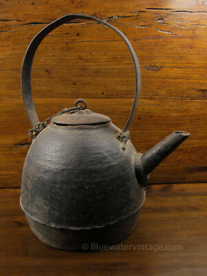 Fine Antique Chinese Iron kettle teapot or water pot Shanxi OCT52