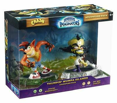 Skylanders Imaginators Crash Bandicoot Thumpin Wumpin Islands Adventure Pack NEW