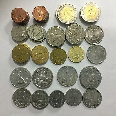 Albania 1, 5, 10 Lek, 5,10, 20, 50 Qindarka,Coins Different Years 1964 to 2000