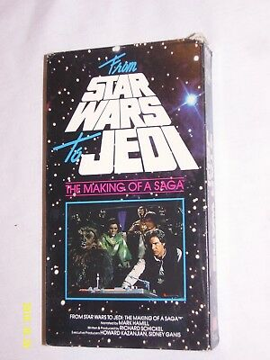 From Star Wars to Jedi -The Making of a Saga (VHS, 1995)
