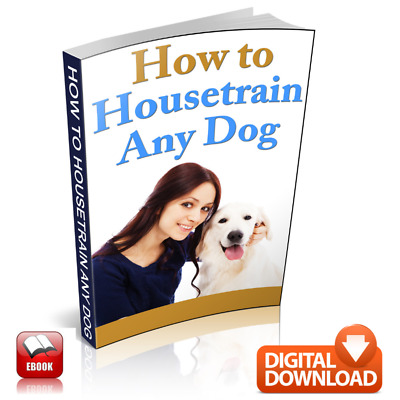 How To Housetrain Any Dog Guid book+ MRR + Free Shipping