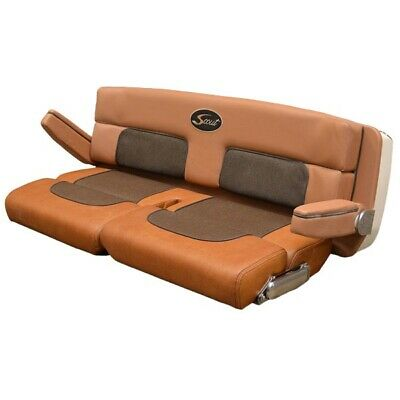 Terrific Scout Boats Double Bolster Bench Seat Brown 49 X 24 X 21 Andrewgaddart Wooden Chair Designs For Living Room Andrewgaddartcom
