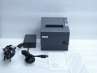 EPSON TM-T88IV Business Thermal Printer M129H With Epson Power Supply