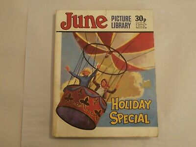 *AR* IPC Girls Digest Comic June Picture Library Holiday Special (1977) G/VG