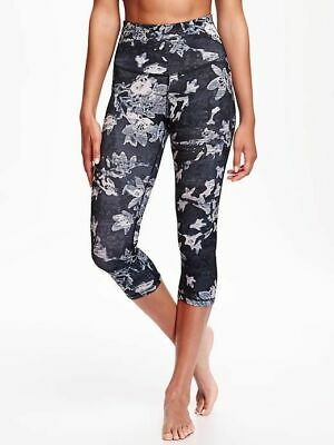 c11175f6ae OLD NAVY ACTIVE High-Rise Compression Crops:XL Tall - $18.95   PicClick