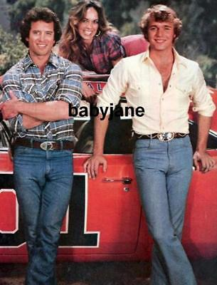 021 John Schneider Tom Wopat Catherine Bach Dukes Of Hazzard Tight Jeans Photo