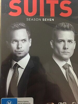 SUITS - Complete Season 7 4 x DVD Set AS NEW! Series Seven Parts One & Two