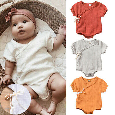 2019 Newborn Infant Baby Boy Girl Romper Bodysuit Jumpsuit Clothes Outfits NEW