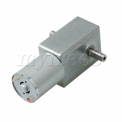 DC24V 210RPM Worm Gear Motor 160rpm Rated Speed 6.4 Max.Torque Turbine Reducer