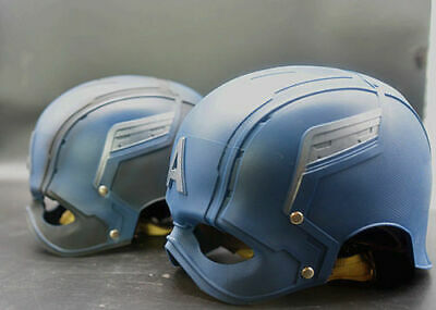 CATTOYS 1/1 Captain America WEARABLE Helmet Replica VETERAN PAINTED Version