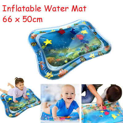 1pcs Inflatable Baby Water Mat Novelty Play for Kids Children Infants Tummy Time
