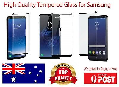 Full Cover Tempered Glass Screen Protector For Samsung S8 S9 S10 Plus Note 8 9