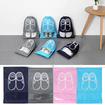 Portable Travel Storage Waterproof Shoes Bag Organizer Pouch Plastic Packing Bag