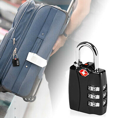 Security Luggage TSA Lock Travel Alloy Password Custom Code Suitcase Digit Strap
