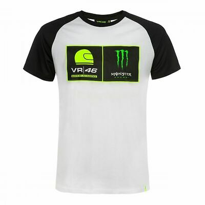 Valentino Rossi VR46 Moto GP Monster Energy Dual T-shirt Official 2019