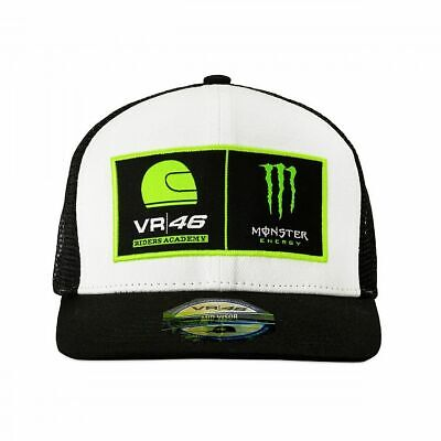 Valentino Rossi VR46 Moto GP Monster Energy Dual Trucker Cap Official 2019