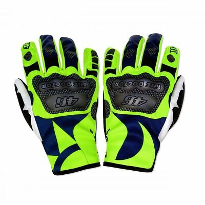 Valentino Rossi VR46 Moto GP Sun & Moon Gloves Official 2019