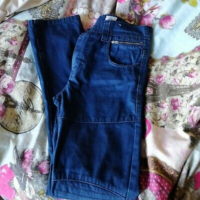 Next Boys Jeans Blue Skinny Fit Size 12 Yrs Excellent Condition