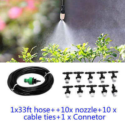 FOG KIT MIST System Misting Cooling Propagation Humidity Greenhouse