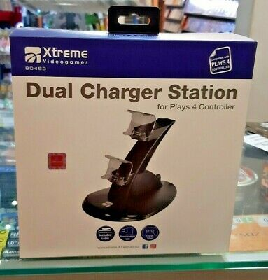 Dual Charger Station - Base Ricarica Controller Dualshock 4 PS4 NUOVO SIGILLATO