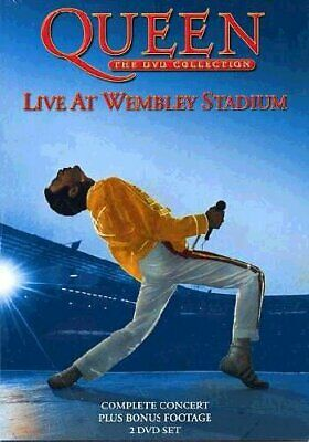 Queen - The DVD Collection Live At Wembley Stadium Two Disc Set [2003]