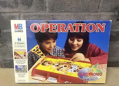 Vintage Operations Game Mb 1996 Complete Apart From Instruction Leaflet